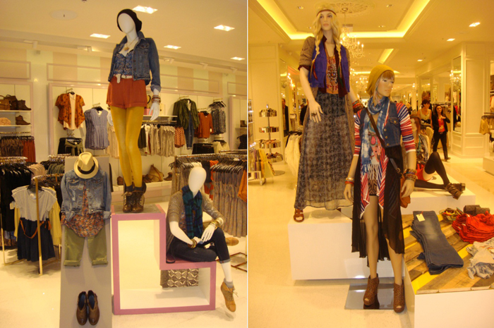 Forever 21 clothing with affordable chic as its guiding force, forever
