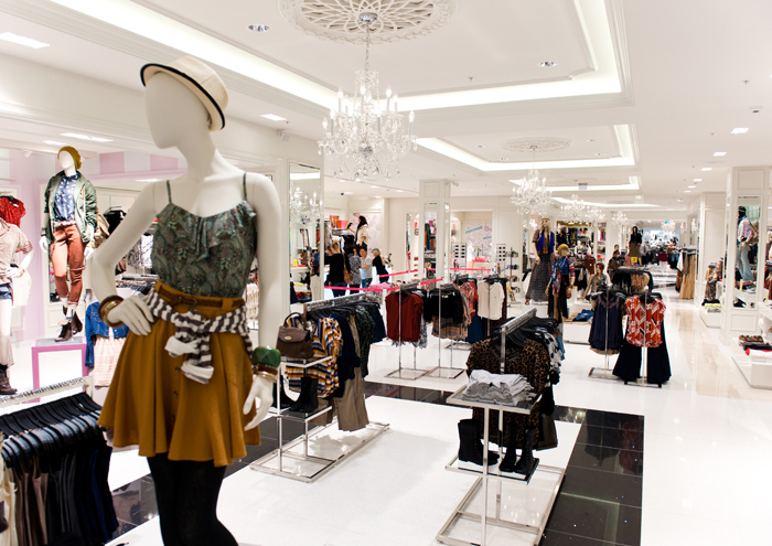 Forever 21 clothing store