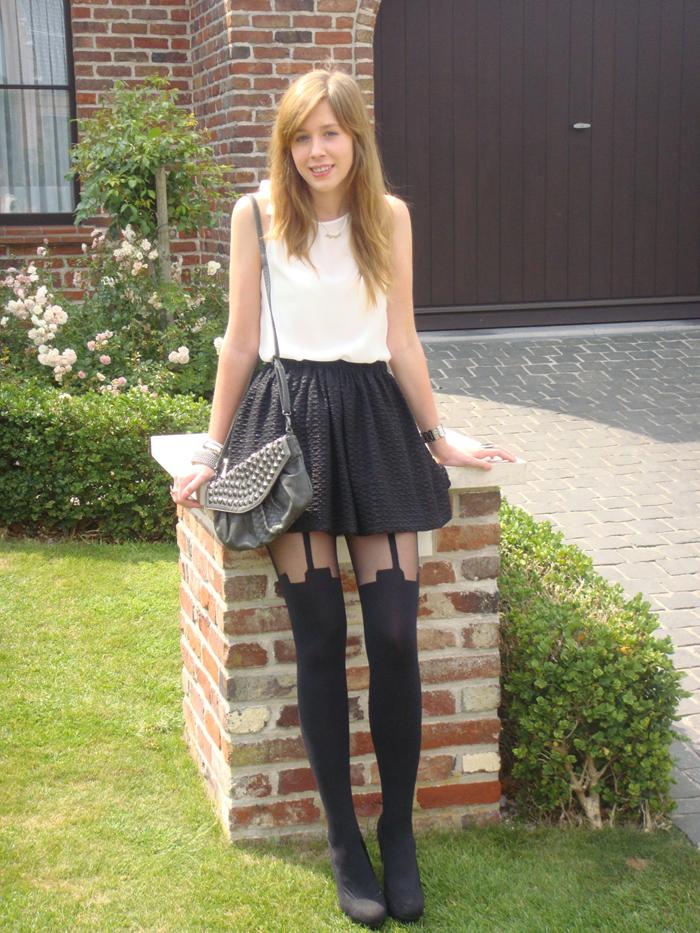Stylelab Fashion Beauty Blog Ootd Lotd French Chic Sandro Maje Karin Nu 241 Ez Outfit Stylelab