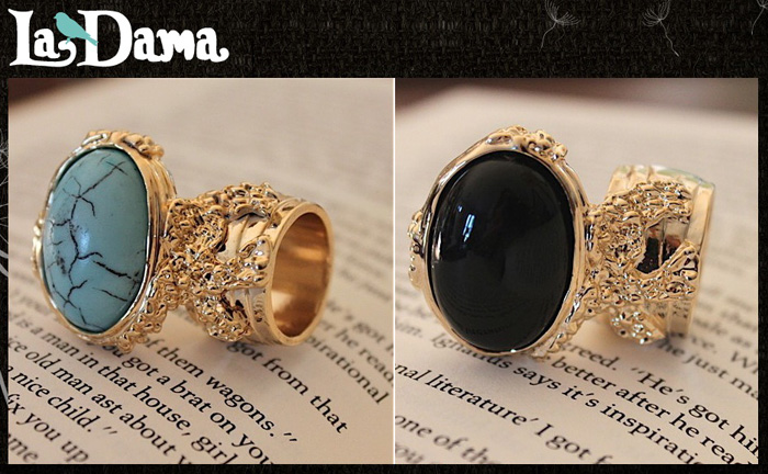 42fded8a30153 StyleLab fashion beauty blog yves saint laurent ysl arty oval ring  lookalike