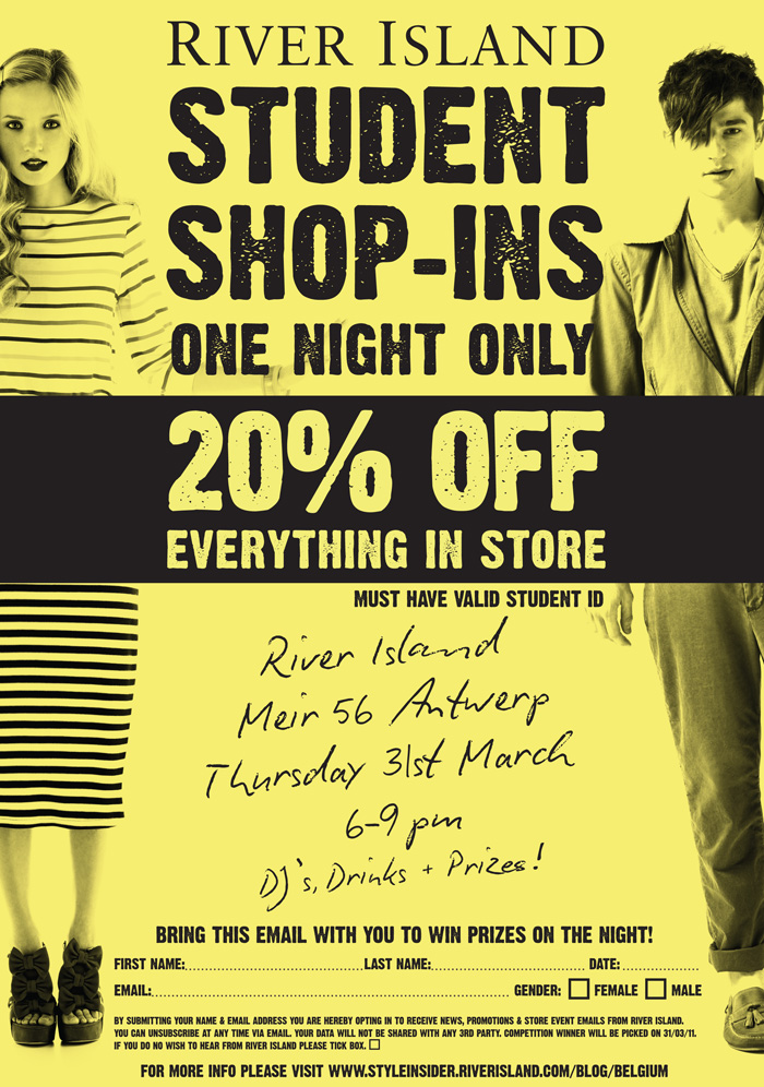 River Island Student Discount In Store