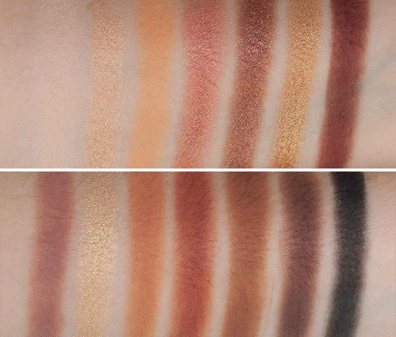 Anastasia Beverly Hills soft glam palette swatches