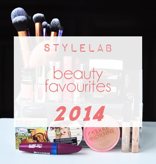 stylelab beauty 2014 favourites