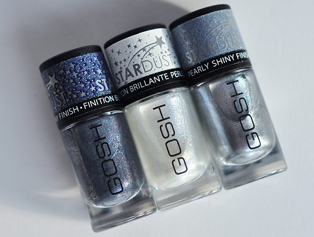 stylelab beauty blog Gosh Stardust nail lacquers AW14a