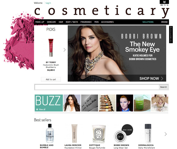 Cosmetic online shop