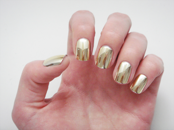 Metallic Nails For The Holidays Stylelab