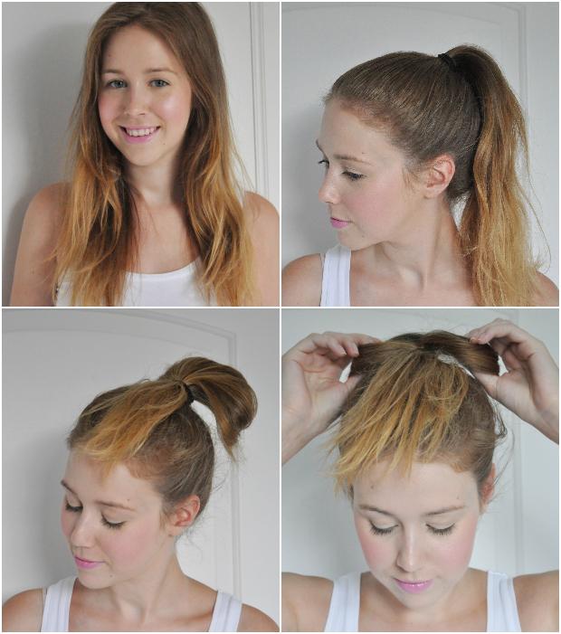 Tutorial the hair bow bun stylelab 1 urmus Choice Image