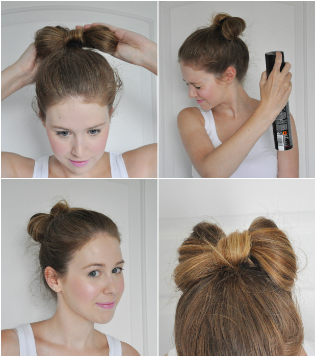 Tutorial The Hair Bow Bun Stylelab