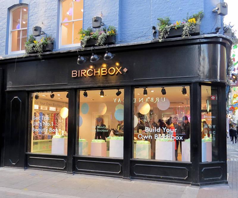 Birchbox London Pop Up Store Stylelab