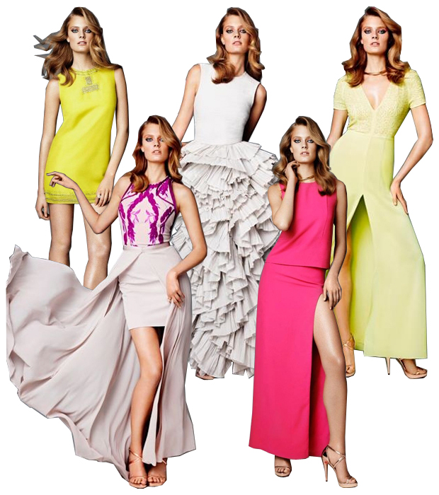 stylelab fashion blog hm conscious collection red carpet dresses