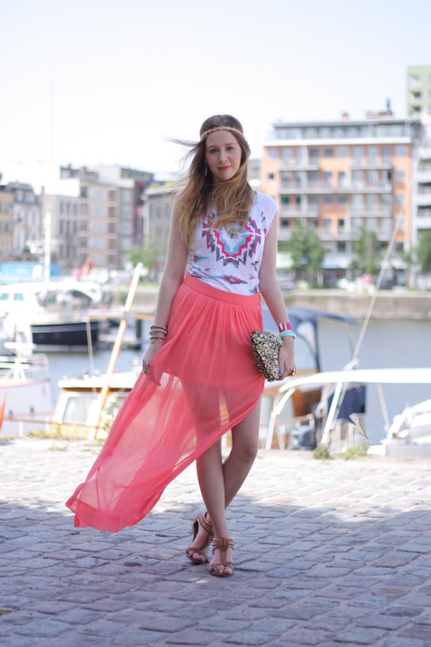 Stylelab Fashion Blog Lotd Outfit Summer Brights 2 Stylelab