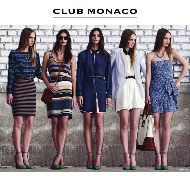 Stylelab Fashion Blog Shop Club Monaco July Lookbook Stylelab