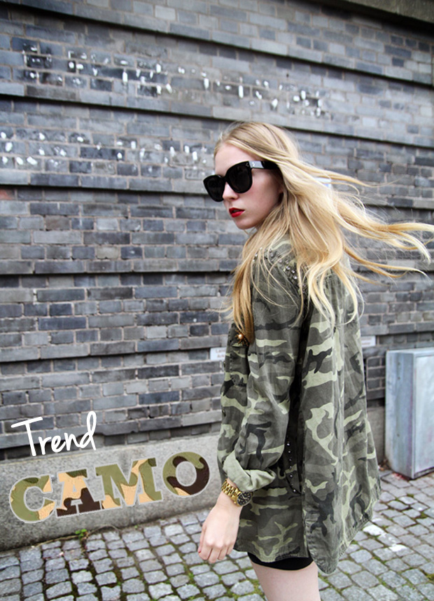 Clothing stores online. Camouflage fashion clothing