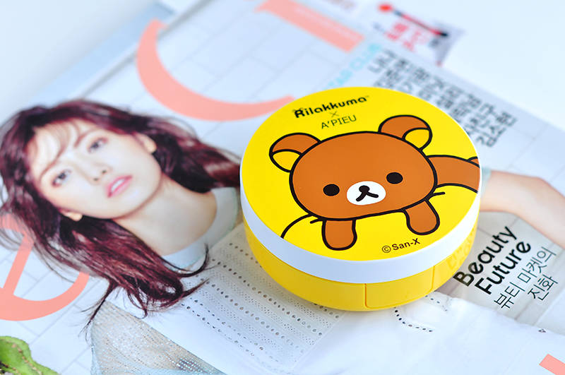 apieu rilakkuma air fit cushion xp