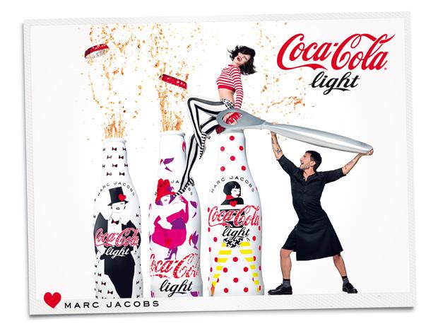 stylelab lifestyle blog coca cola light diet coke marc jacobs bottles