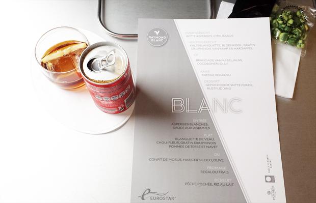 stylelab lifestyle blog london eurostar déjeuner blanc lunch menu