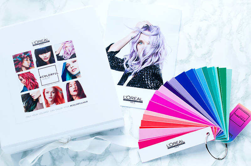 colorful hair l oreal