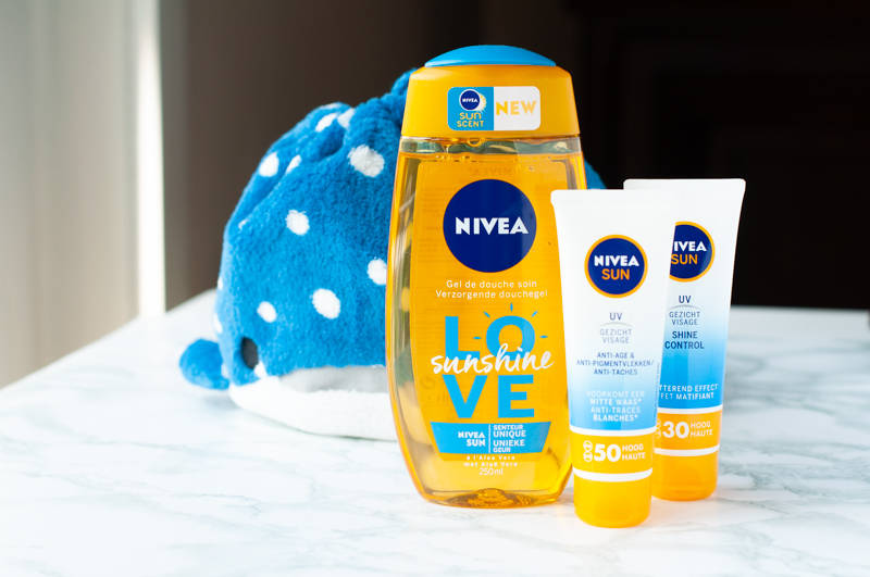 Nivea sun UV face shine control cream