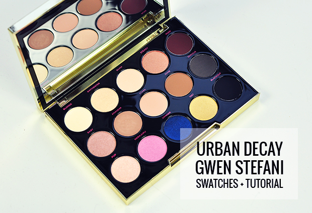 Urban Decay x Gwen Stefani Eyeshadow Palette (Swatches + Tutorial)